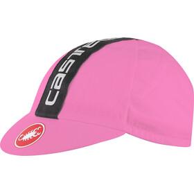 Castelli Retro 3 Gorra, giro pink/black